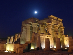 Kom Ombo at night