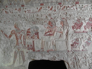 Tomb paintings - El Kab