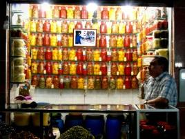 Olive seller Fes