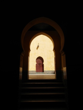 Meknes doorway
