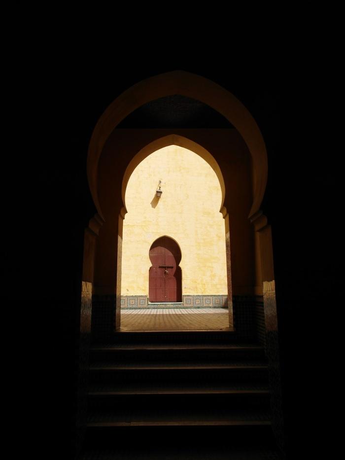 Meknes doorway